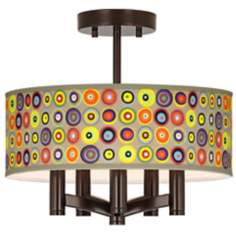 Marbles in the Park Ava 5-Light Bronze Ceiling Light