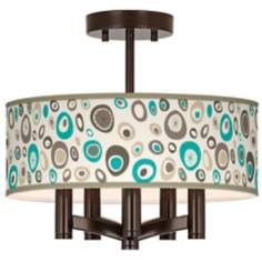 Stammer Ava 5-Light Bronze Ceiling Light
