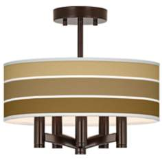Tones of Chestnut Ava 5-Light Bronze Ceiling Light