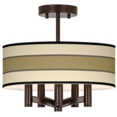 Tones of Beige Ava 5-Light Bronze Ceiling Light