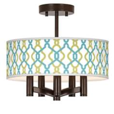Hyper Links Ava 5-Light Bronze Ceiling Light