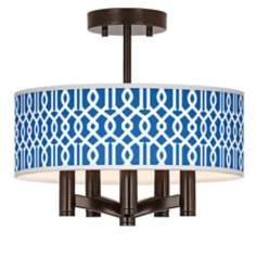 Chain Reaction Ava 5-Light Bronze Ceiling Light