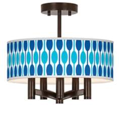 Jet Set Ava 5-Light Bronze Ceiling Light