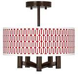 Amaze Ava 5-Light Bronze Ceiling Light