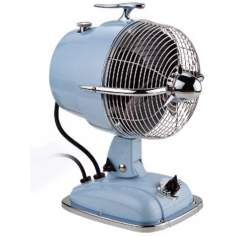 "9 1/2"" Wide Baby Blue Urbanjet Table Fan"