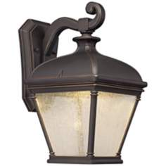 "Lauriston Manor 15 3/4"" High Bronze LED Outdoor Wall Light"