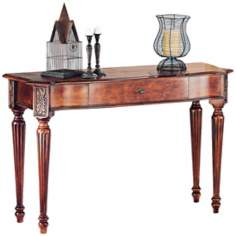 Sedona Aged Oak Finish Rectangular Sofa Table