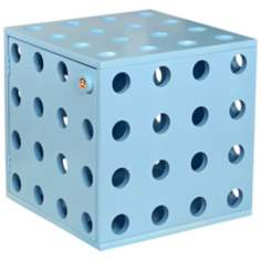 Paul Frank Blue Stackable Storage Cube with Door