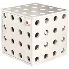Paul Frank White Stackable Storage Cube with Door