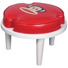 Paul Frank Stackable Red Ottoman