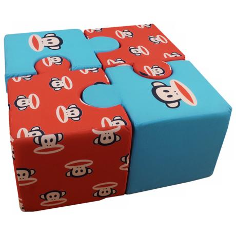 Paul Frank Play Time Foam Puzzle Cushion