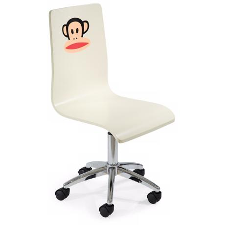 Paul Frank White Office Chair