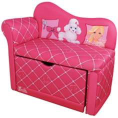 Barbie Glam Storage Chaise Chair