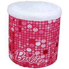 Barbie Glam Storage Ottoman