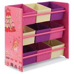 Barbie Glam Multi-Bin Storage Unit