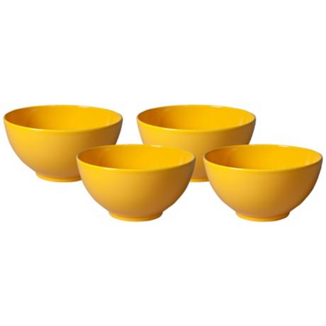 Set of 4 Fun Factory Buttercup Dipping Bowls