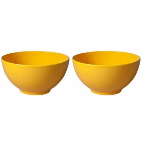 Set of 2 Fun Factory Buttercup Serving Bowls