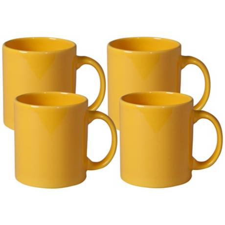 Set of 4 Fun Factory Buttercup Mugs
