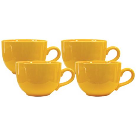 Set of 4 Fun Factory Buttercup Jumbo Cups