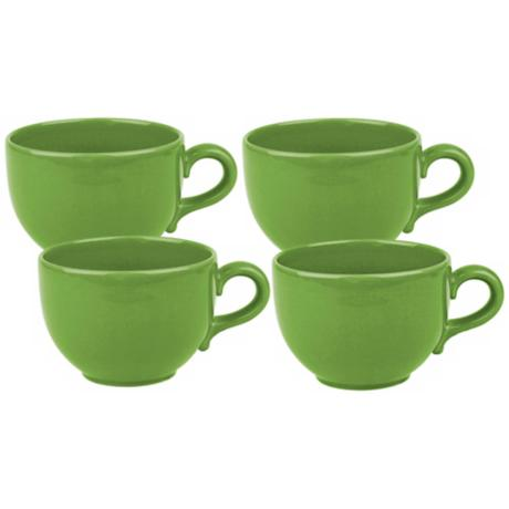 Set of 4 Fun Factory Green Apple Jumbo Cups