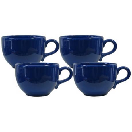 Set of 4 Fun Factory Royal Blue Jumbo Cups