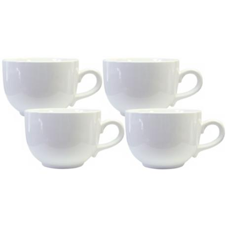 Set of 4 Fun Factory White Jumbo Cups