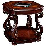 Harcourt Collection Rectangular Cherry End Table