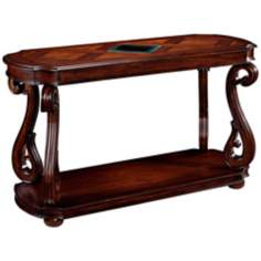 Harcourt Collection Rectangular Cherry Sofa Table