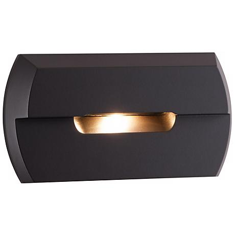 "Deep Bronze 4 3/4"" Wide LED Step Light"