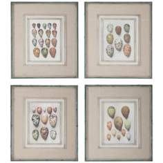 "Uttermost Set of 4 Study of Eggs 26"" High Wall Art Prints"