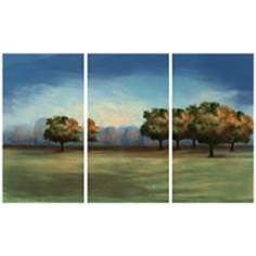 Treescape Triptych Set of 3 Canvas Wall Art
