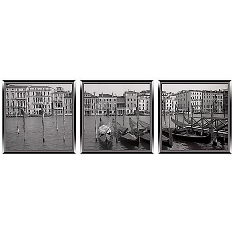 Memories of Venice Triptych Set of 3 Italy Wall Art Prints