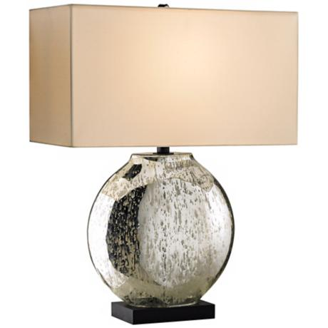 Currey and Company Possibility Antiqued Glass Table Lamp