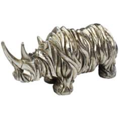 Abstract Rhino Sculpture