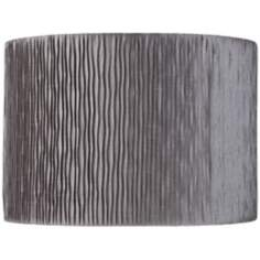 Morell Silver Tin Pleat Drum Shade 15x15x10.5 (Spider)