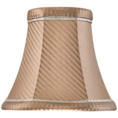 Coffee Shade with Gray Trim 3x5.50x5 (Clip-On)