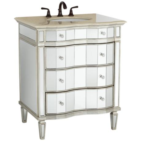 kaylee mirrored bathroom sink vanity y1921
