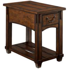 Tacoma Rustic Chairside Table