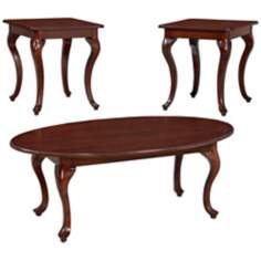 Clarendon 3-Piece Coffee and End Table Set