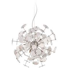 "Orion 23 1/2"" Wide Chrome Pendant Light"