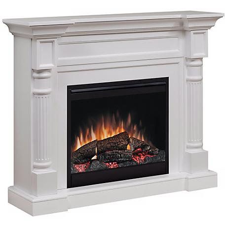 Dimplex Winston White Electric Fireplace