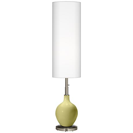 Linden Green Ovo Floor Lamp