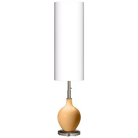 Harvest Gold Ovo Floor Lamp