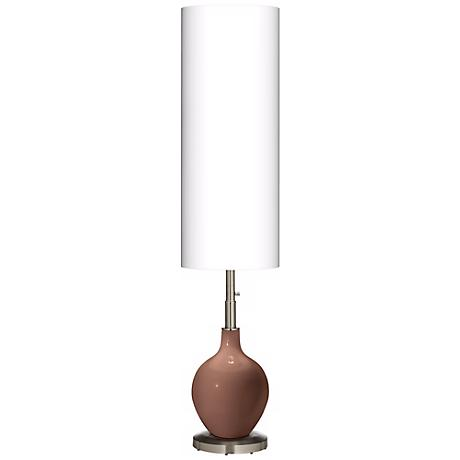 Rugged Brown Ovo Floor Lamp