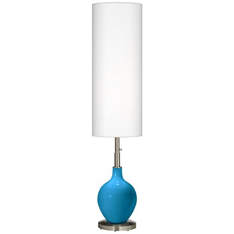 River Blue Ovo Floor Lamp
