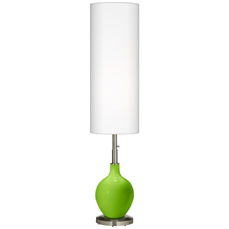 Neon Green Ovo Floor Lamp