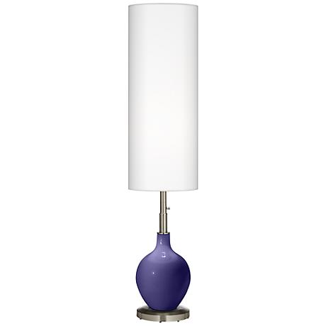 Valiant Violet Ovo Floor Lamp