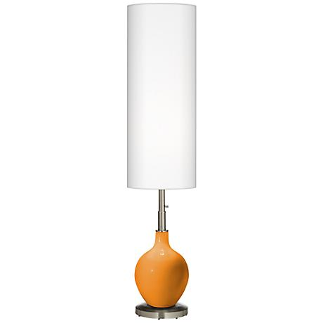 Kids Stuff Orange Ovo Floor Lamp