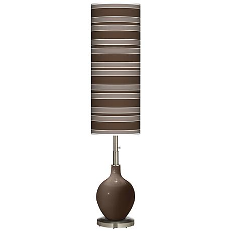 Carafe Bold Stripe Ovo Floor Lamp