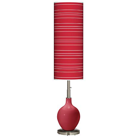Samba Bold Stripe Ovo Floor Lamp